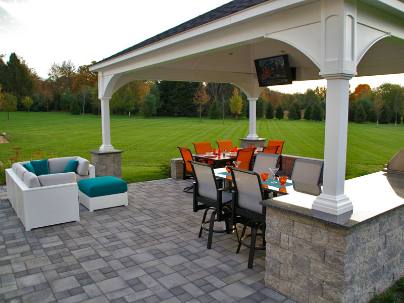 Paver Patio And Paver Walkway Techobloc Landscape Projects - Ep henry patio