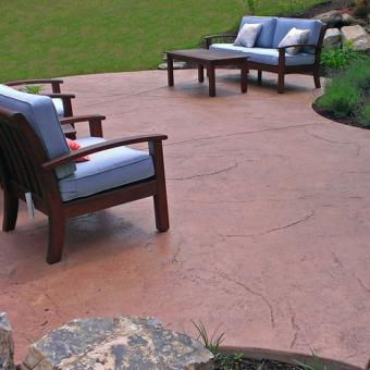 stamped concrete patio-Allentown PA