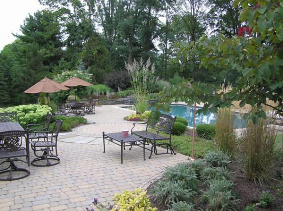 swimming pool landscape company lehigh valley