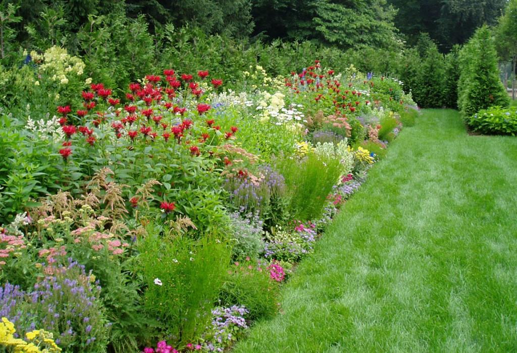 Perennial garden theory design garden design inc for Perennial flower garden designs