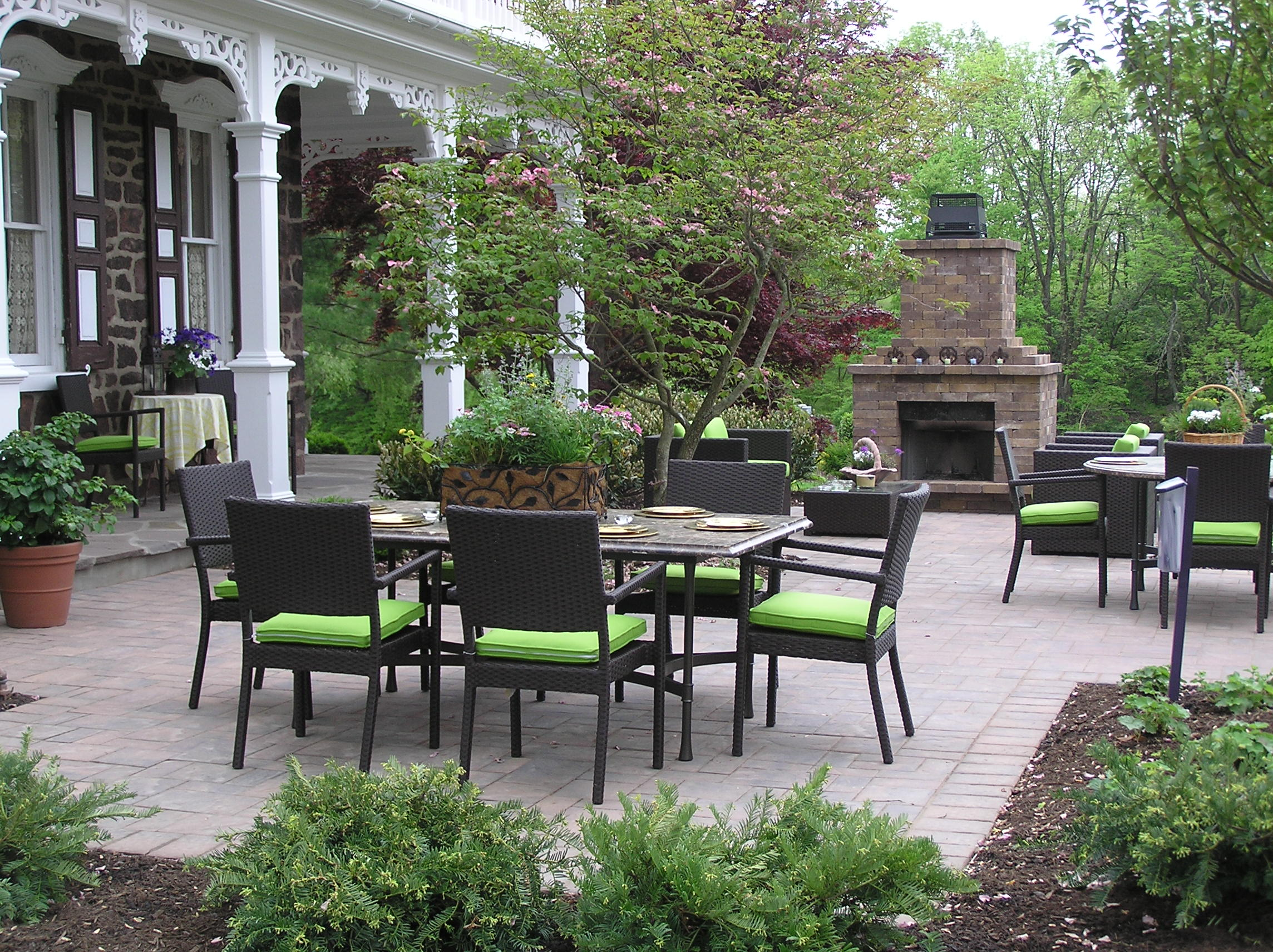 Paver Patio Archives - Garden Design Inc.
