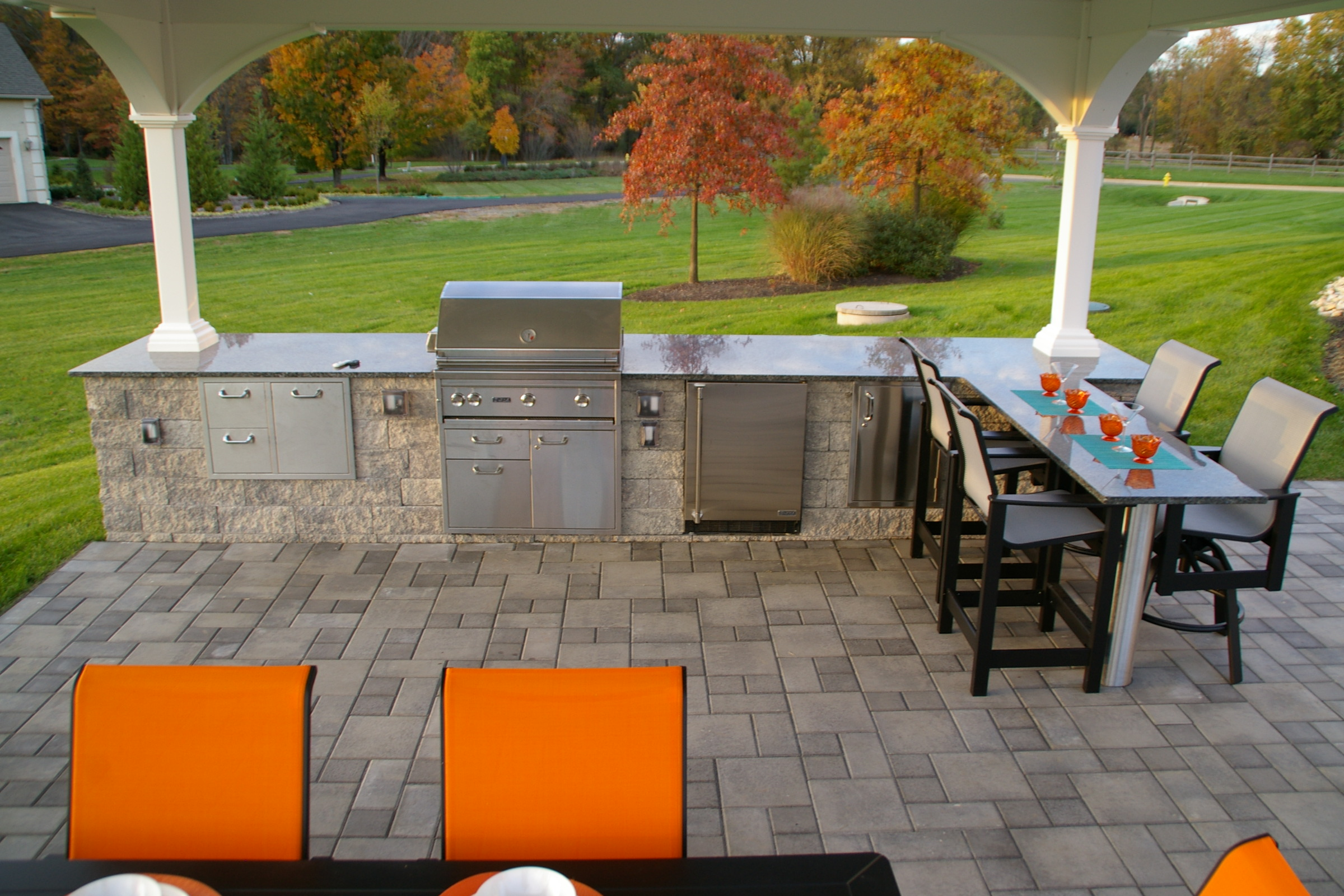 outdoor kitchen archives - garden design inc.