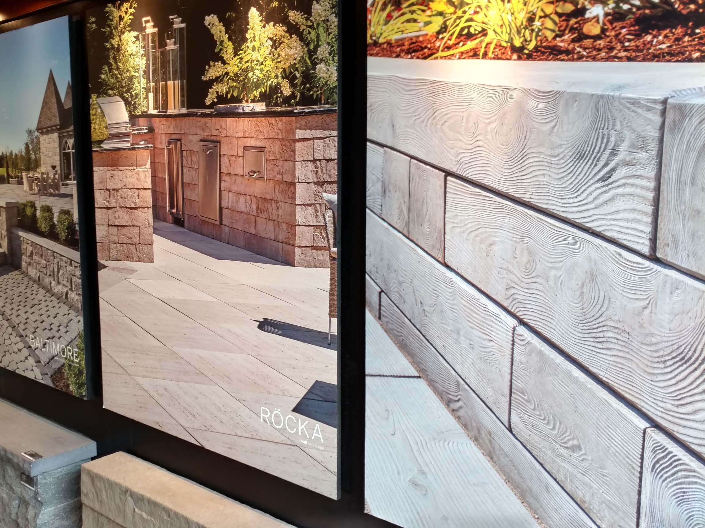 Techo bloc pavers reviews garden design inc for Garden design inc