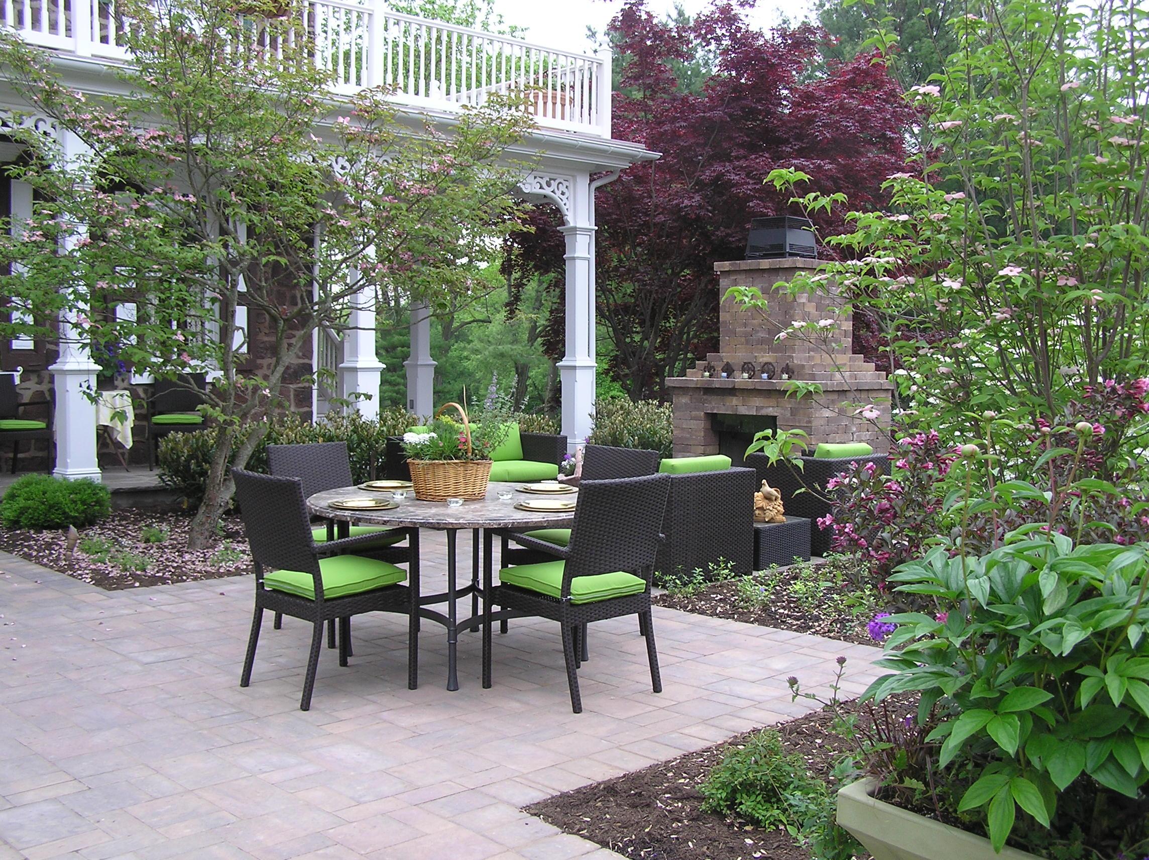 Paver Patio Contractor Garden Design Inc