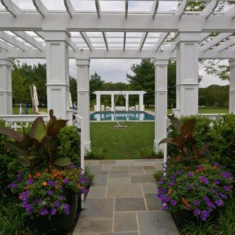 Pergola and Swimming Pool