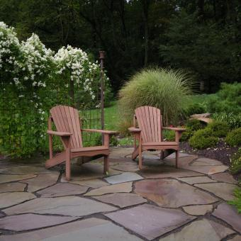 Flagstone Landscape Patio Allentown Pa Rectangular Formal