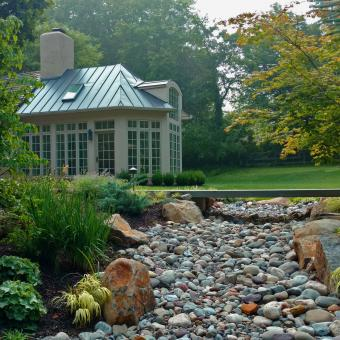 Dry Stream Landscaping