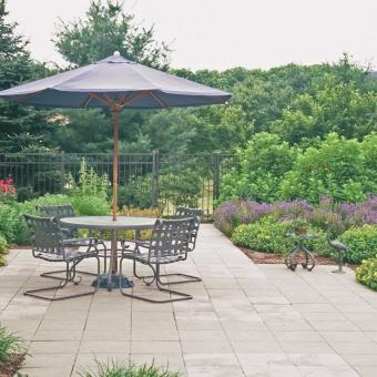 outdoor paver patio landscaping in bethlehem pa